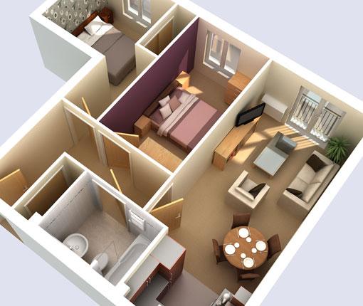 Wadsworth 3d Ltd Housing Brochure 3d Plans